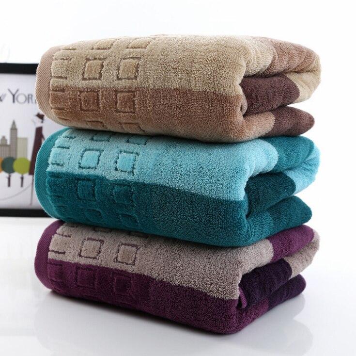 100% Baumwolle Dicker Erwachsene Big Bad Handtuch Luxus Männer Frauen Super Saugfähigen Dusche Handtücher Badezimmer Spa Wrap Kann Wiederholt Umgeformt Werden.