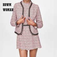 Women Temperament Business Suits Office Ladies Blazer Set Uniform Fashion Work Wear ZO1201