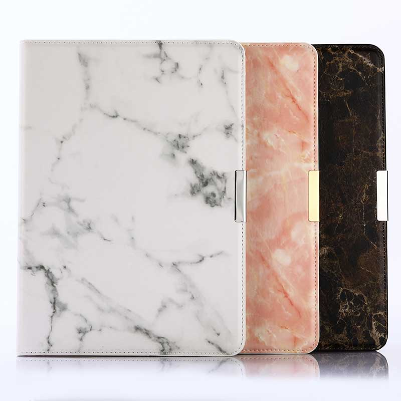 Nature Marble pattern Tablet Cover for iPad Pro 9.7 inch New Case Fashion Glossy Stand Leather Case Smart Cover for iPad Pro 9.7