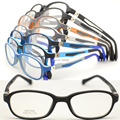 wholesale lot 1002 pupil TR90 colorful optical full-rim with 180 degree  flexible spring hinge optical eyeglasses frame
