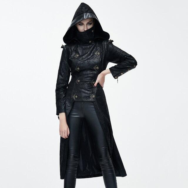 Devil Fashion Hooded Witch Dress