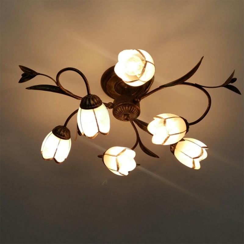 vnitřní led stropní světla moderní led stropní lampa Obývací pokoj světlo Dětská ložnice Lampa svatební dekorace světla železné umění