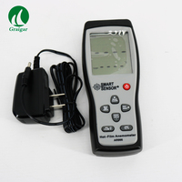 AR866 Hot Wire Thermo Anemometer Air Flow Velocity Wind Speed Meter Anemometer
