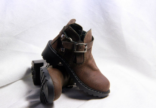 BJD  doll shoes Doll accessories brown  boots brown leather shoes 1/3 SD17 size bjd doll shoes doll accessories chocolate martin boots 1 4 id 1 3 sd17 uncle