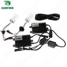 12 v/100 w HID Xenon KIT de Conversión H1/H3/H4 bombilla individual/H7/H8/H11/D2S/C/R/9005/9006 Auto HID con lastre de alta calidad