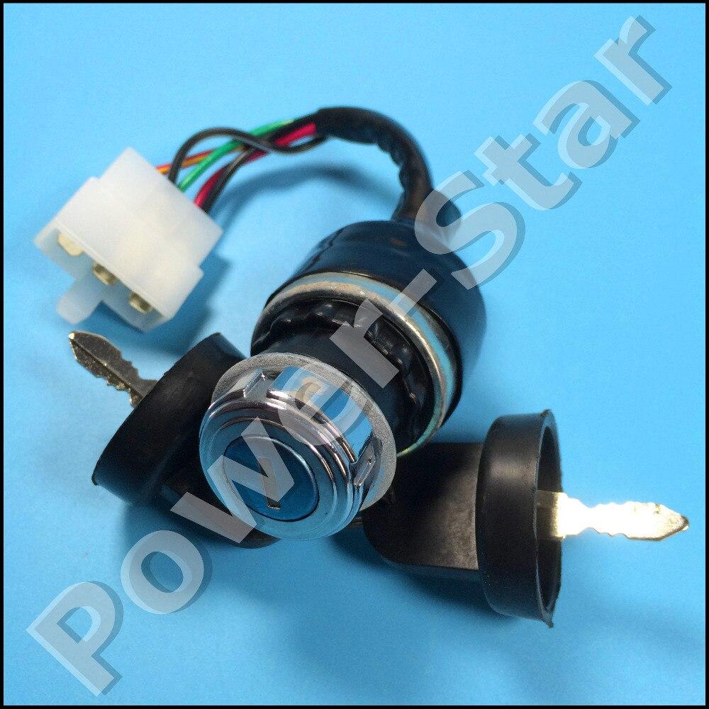 Ignition Switch Key 5 wire start on off 250cc 150cc 125cc 110cc Go ...
