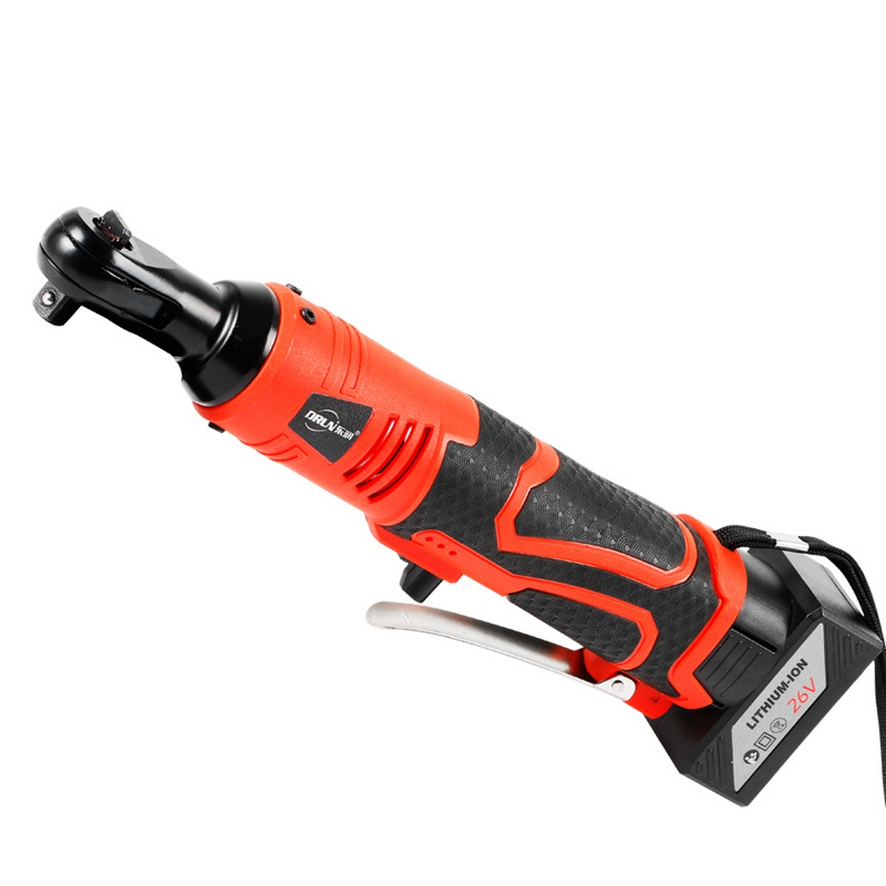 12V 26V Electric Cordless Ratchet Wrench with Lithium Rechargeable Battery Portable Electric Impact Wrench Repair Power Tool12V 26V Electric Cordless Ratchet Wrench with Lithium Rechargeable Battery Portable Electric Impact Wrench Repair Power Tool