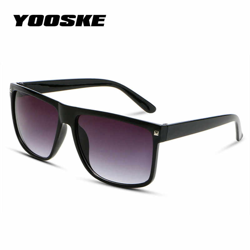 df5ae90d82a YOOSKE Vintage Oversized Sunglasses Women Brand Designer Big Frame Sunglass  Men Retro Large Size Eyewear Shades