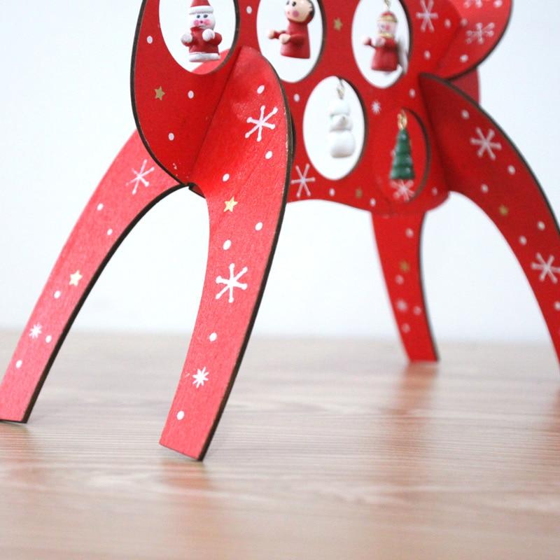 comprar ms nuevo de madera adornos navideos creativo diy navidad del reno de los alces decoracin de escritorio g de christmas decor