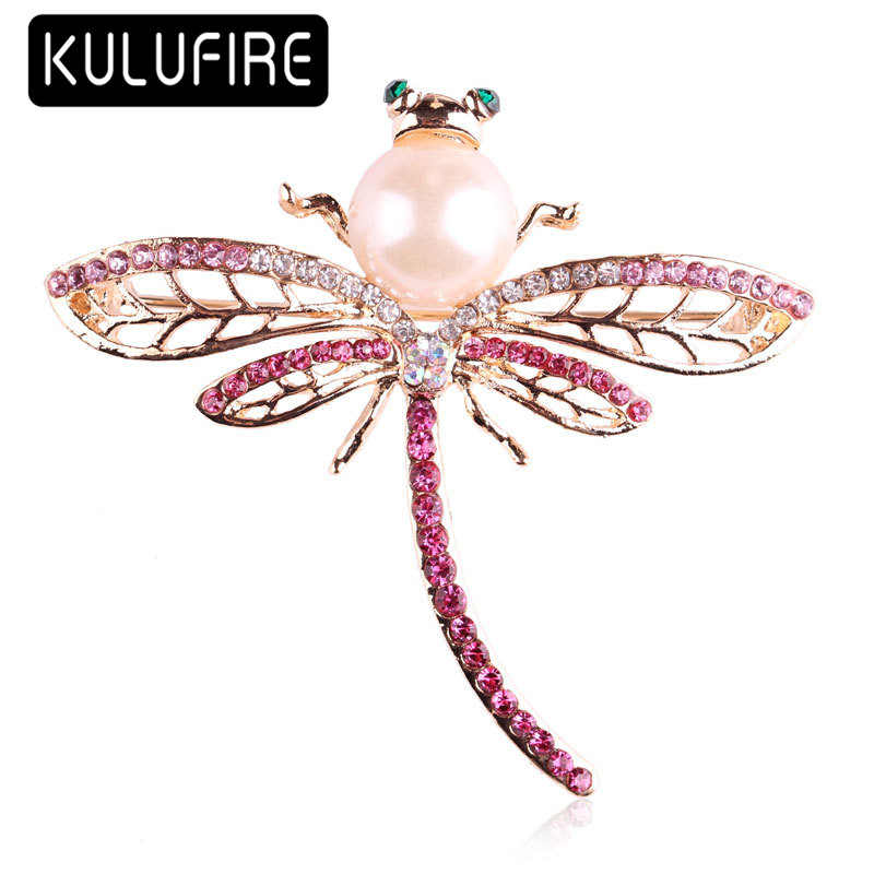 KULUFIRE broches al por mayor cute dragonfly Pattern lapel enamel pin alfileres solapa pins metal juego de tronos ...
