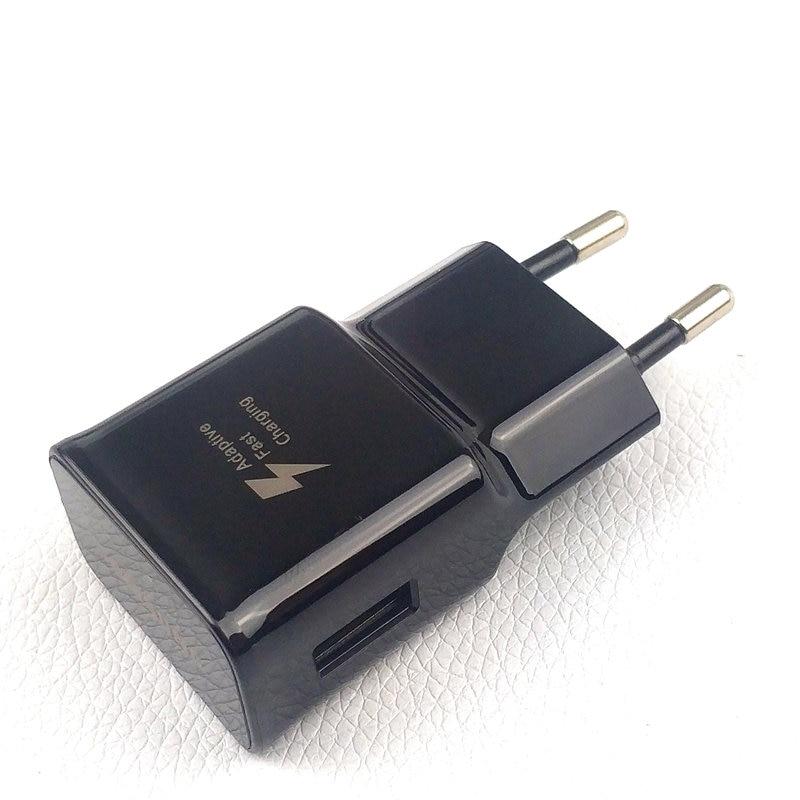 Image 2 - Оригинальное настенное зарядное устройство EU Samsung Galaxy для s9 S8 plus Note 8 9 9 v/1.67A адаптивный адаптер для быстрой зарядки и кабель Usb Type C-in Зарядные устройства from Мобильные телефоны и телекоммуникации