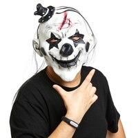 Şeytan Palyaço Maskesi Lateks Terör Hayalet Korkunç Gizem Maske Cadılar Bayramı Sırlar Odası Kaçış sahne