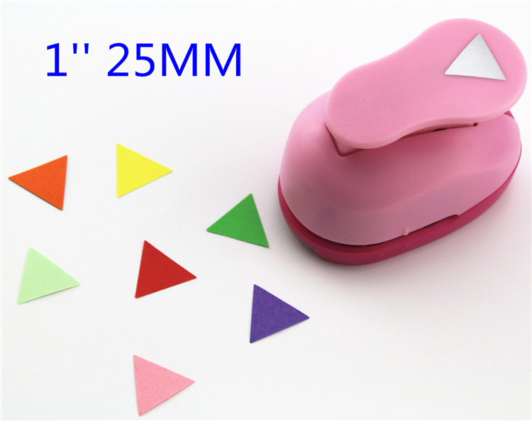 1''(2.5cm) Triangle Punch Diy Craft Hole Eva Foam Punch Kids Scrapbook Paper Cutter Scrapbooking Puncher Embossing Device