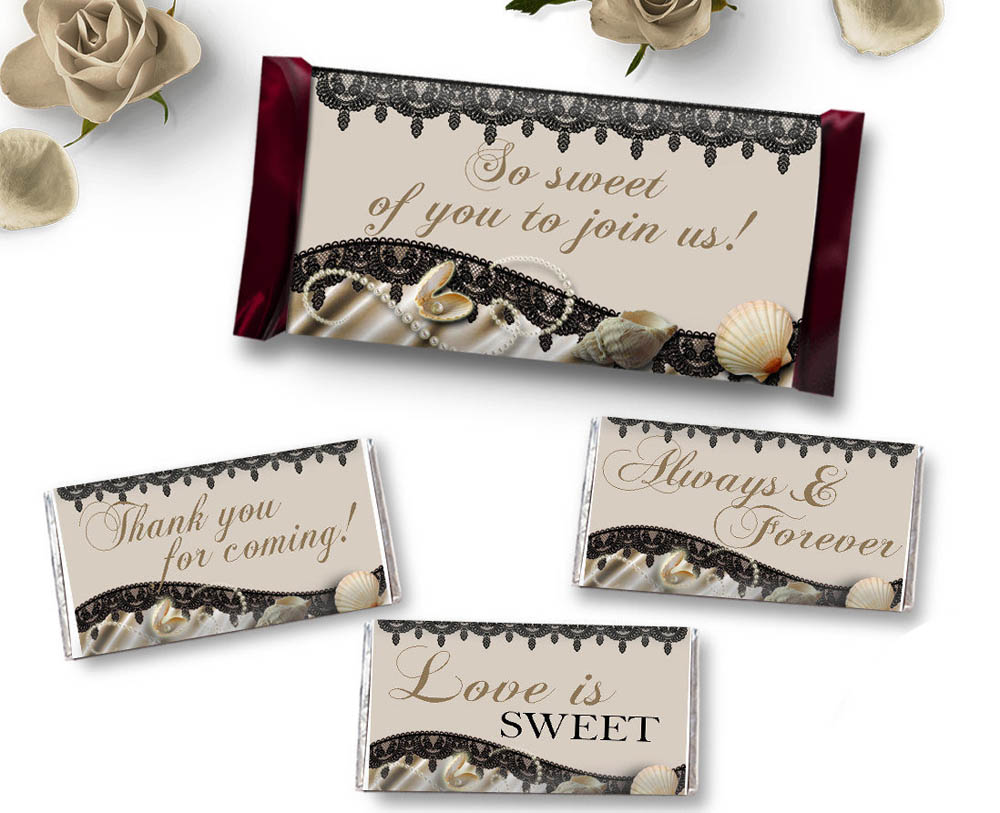 48 Personalized Candy Wrapper Supplies Wedding Chocolate Bar Wrappers Candy Dress Custom Bridal Shower Chocolate Candy Wrappers