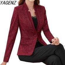 Large size Women Blazers And Jackets Spring Autumn Slim Eleg