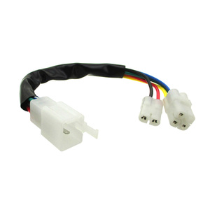 Image 2 - XLSION CDI Kabel Draad Adapter Connector Plug Fit Scooter Bromfiets Pit Crossmotor ATV Quad