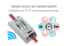 IOS Android APP Control Switch Sonoff RF WiFi Wireless Remote Control Switch RF 433mhz Smart Home Timer Wall Light Switch