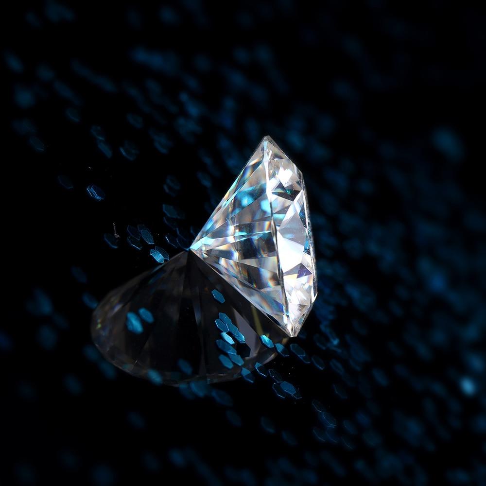 DovEggs 1 sztuka średnica 7.5mm F kolor Moissanite luźne kamienne serca i strzały Cut Moissanite diament do tworzenia biżuterii w Diamenty i kamienie jubilerskie luzem od Biżuteria i akcesoria na  Grupa 2