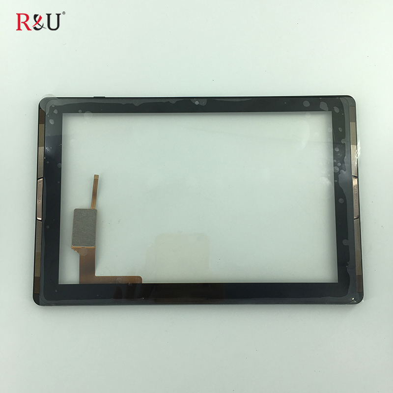used parts 10.1 Touch Screen panel Digitizer outer Glass sensor with frame Replacement Parts for for Acer Iconia Tab 10 A3-A40 10 1 for acer iconia tab 10 a3 a40 tablet pc touch screen digitizer glass panel with black frame replacement parts