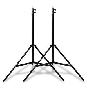 Image 5 - Gratis Dhl Godox 300Ws 2X150 Ws Strobe Studio Flash Light Kit Met RT 16 Trigger & 2X50X70 Cm Softbox & 2X190 Cm Light Stand