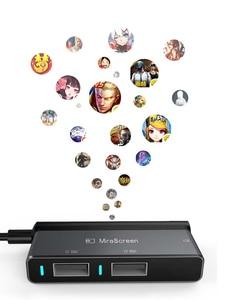 Image 4 - , Convertisseur adaptateur Bluetooth, clavier de jeu, souris de jeu, 4k 60Hz, prise et jeu, PC même écran