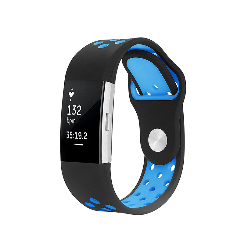 For Fitbit Charge 2 Bands Silicone Replacement Strap For ...