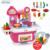 Nueva llegada 40 unids cocina niños set del bebé rompecabezas juguete simulación kitchen cooking cocina kids play set niños verduras