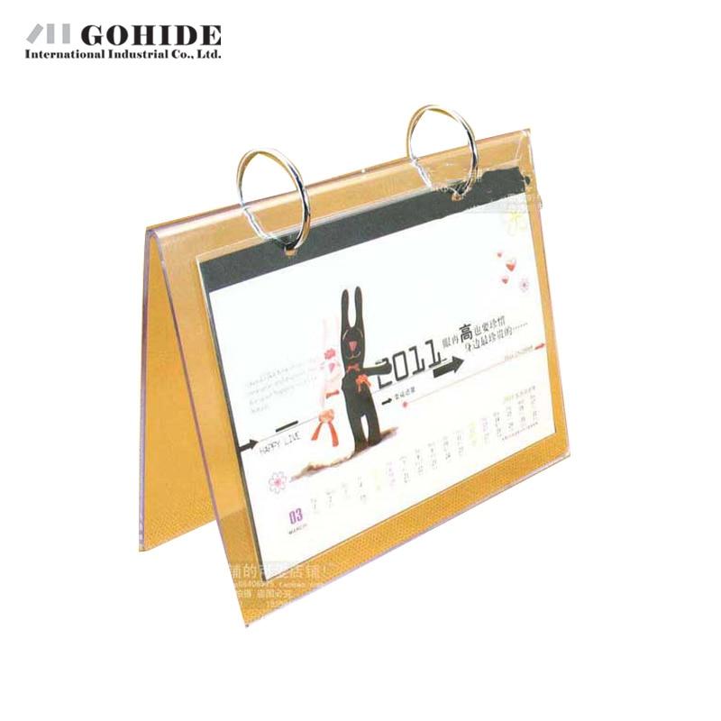 DUHD Dekoration Zweiseitiges Plastik Kalender Rahmen Nachahmung ...