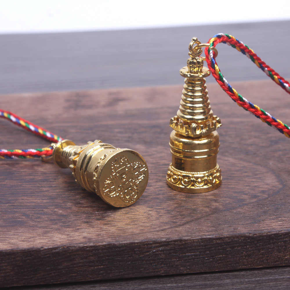 Detail Feedback Questions about Tower prayer box amulet pendant