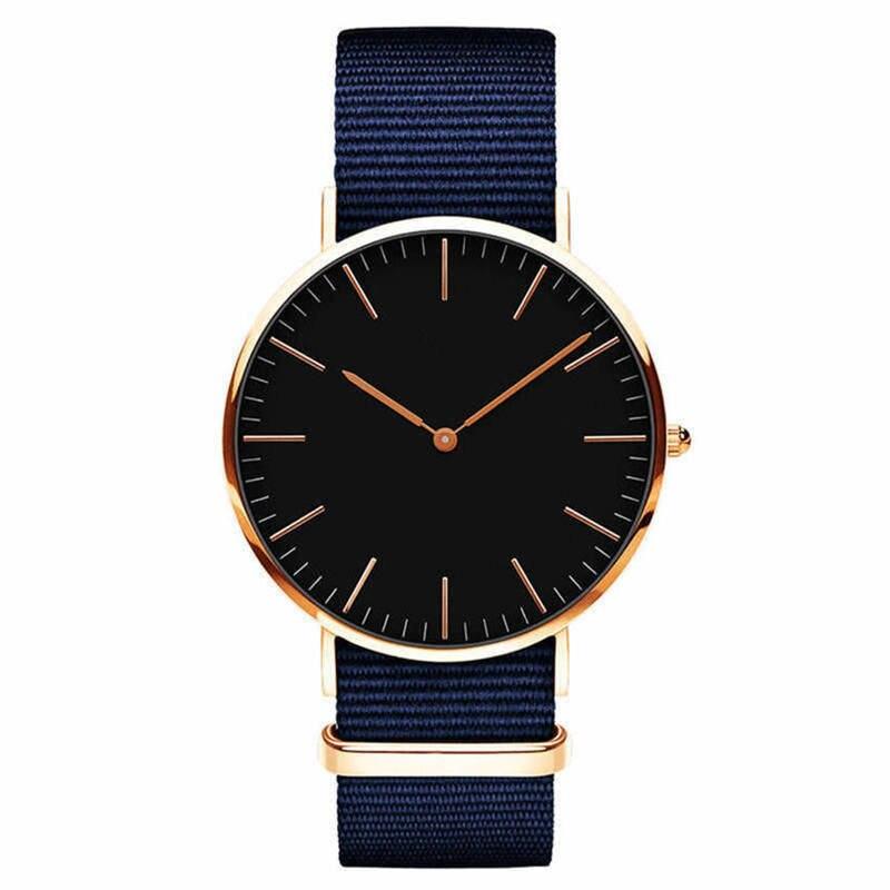 Men Full Steel Quartz Watch Mens Fashion Hot Watches Black Gold Silver Male Relojes Masculino Drop Shipping Analog Wristwatches