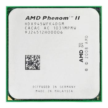 AMD Phenom II X4 945 Processor Quad-Core 3.0GHz 6MB L3 Cache Socket AM2+/AM3 1