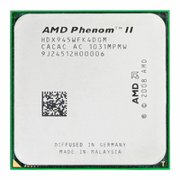 AMD Phenom II X4 945 Processor Quad Core 3.0GHz 6MB L3 Cache Socket AM2+/AM3