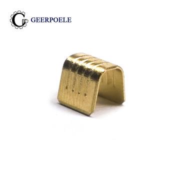"""100 sztuk partia 454B U do zaciskania proszę kliknąć na przycisk """" tłoczenie na zimno Splice elektryczny złącze stykowe do przewodów końcówki kablowe Sertir 2 5-4 tanie i dobre opinie 454B U Type Crimping copper 5-15A acid pickling 6mm*4mm*5mm 0 3mm wire cross section 100 piece PE polybag -25°~+105°"""