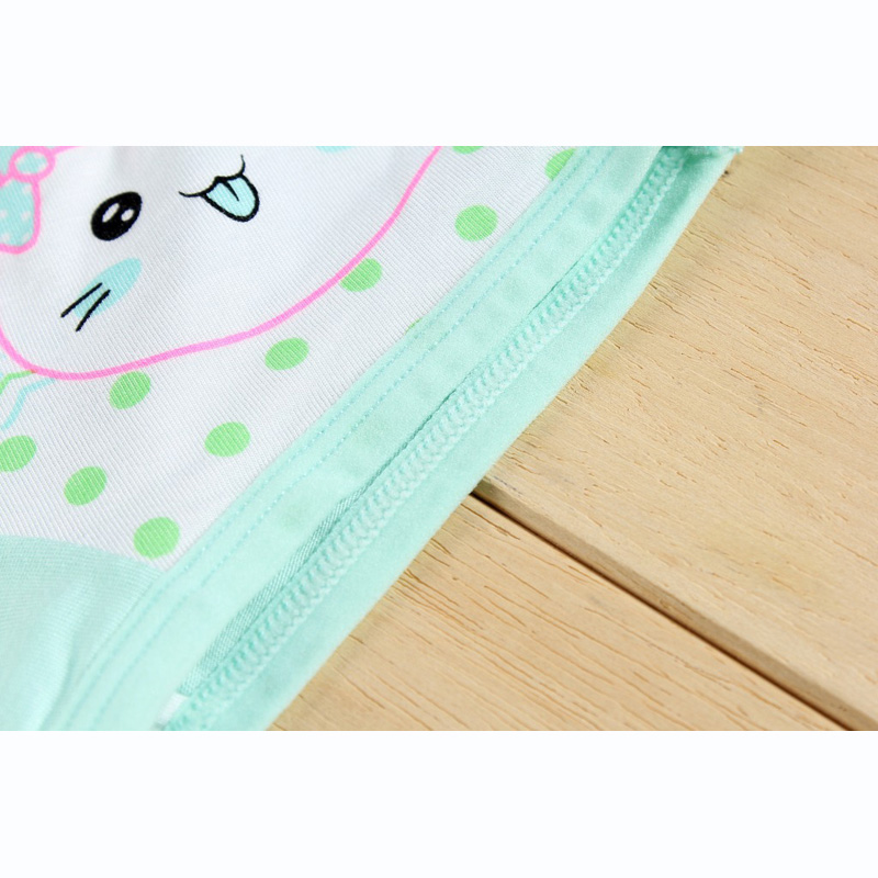 Girl underwear Free shipping new arrived kids character rabbit boxer short animal children 95%modal panties 5pcs/lot 1-10year