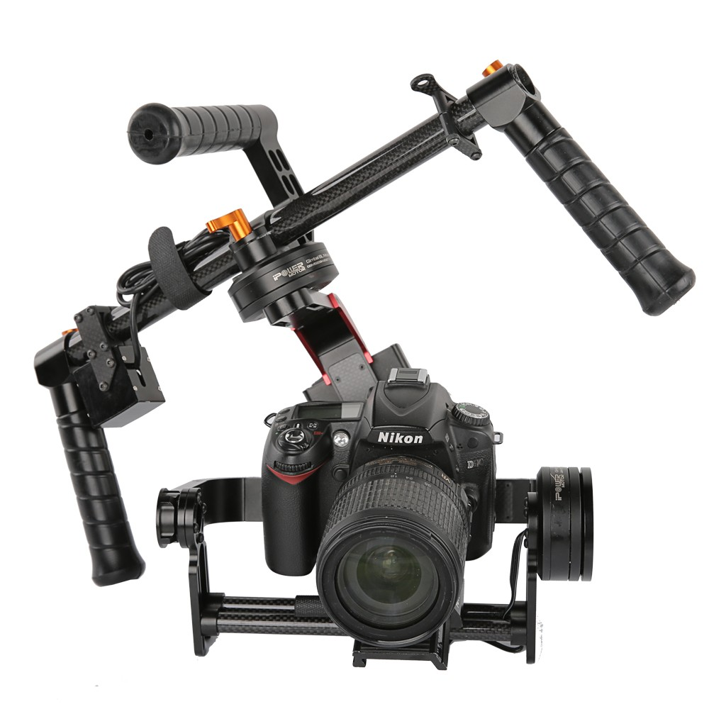 RTF iFlight G15 3 Axis CNC DSLR Handheld Brushless Gimbal w/ 32 bit Simple BGC for 5D/GH3/GH4/A7S GYRO steadycam stabilizer x cam sight2 2 axis smartphone handheld stabilizer mobile phone brushless gimbal with bluetooth for iphone samsung xiaomi nexus