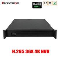 DONGJIA DJ 2036X 1 5U Support 4HDD ONVIF P2P Audio Alarm 36CH 8MP 4K H 265
