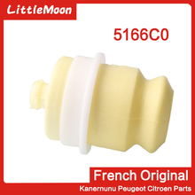 LittleMoon Original brand new rear axle buffer block Buffer rubber Rear cushion 5166C0 for Peugeot 407 508 Citroen C5
