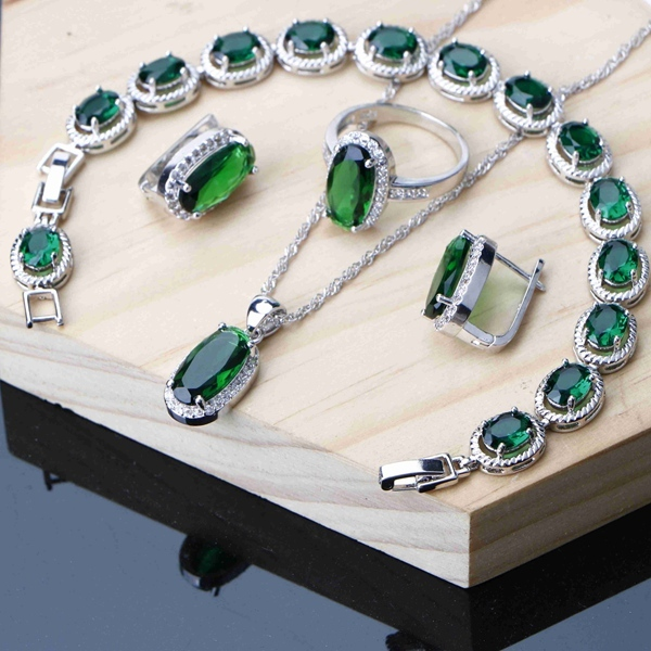Jewelry Sets Silver 925...