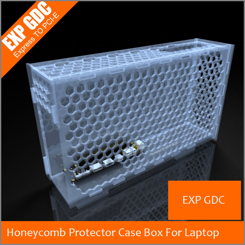 Honeycomb Protector Case Box For EXP GDC External Independent Graphics Card