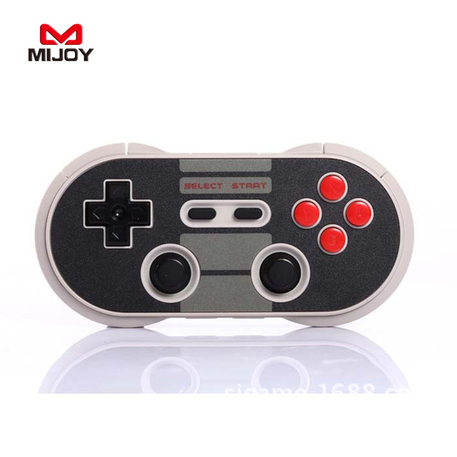 MIJOY 8Bitdo NES30 Pro Wireless Gamepad Classic Game Controller Remote For iOS Android PC Computer Joystick TV PSP Game Console