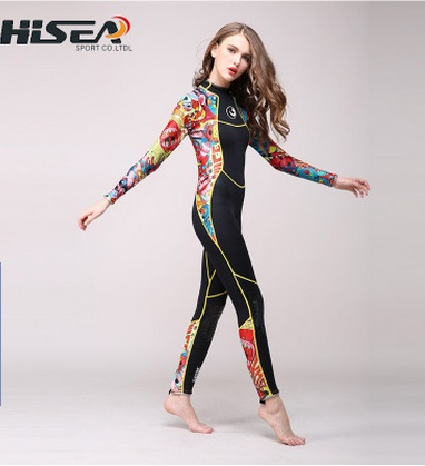 3mm Neoprene Wetsuit Women Full Body Swimsuit Equipment For Diving Scuba  Surfing Spearfishing Suit Jumpsuit Triathlon Wetsuits b1a0707ba