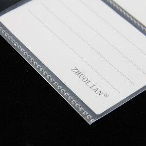 Image 2 - 20 sheets/lô A4 30 lỗ Lá Lỏng Lẻo Thẻ Bộ Sưu Tập Túi, Túi Rõ Ràng Tấm Bảo Vệ