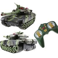 Радиоуправляемый Танк боевой раулер модель автомобиля пульт дистанционного управления Танк Декор Радиоуправляемый Танк крутые игрушки по...