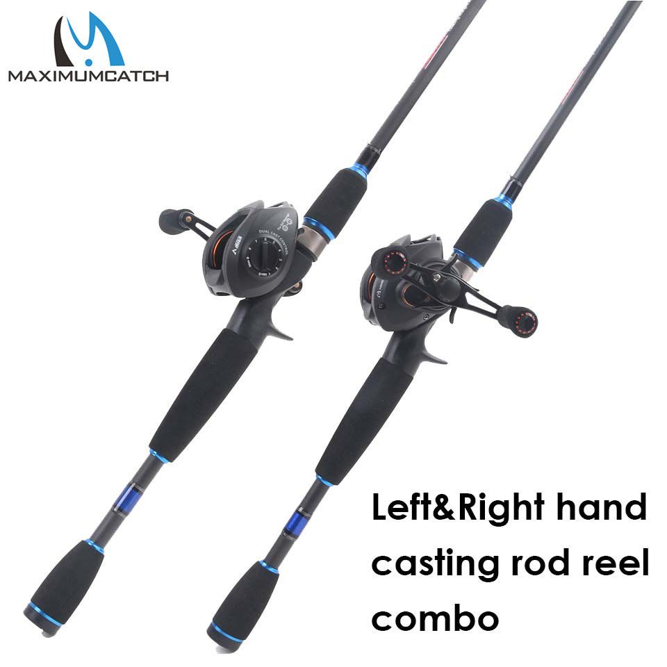Maximumcatch 2.1M-2.4M Lure Weight 3-80g Portable Travel Bait Casting Rod Left & Right Handed Casting Fishing Rod Reel Combo nunatak combo bait casting reel viper 11 bb fishing gear lec casting rod 2 1 m 2 4 m fishing rod lure weight 1 4 3 4 o
