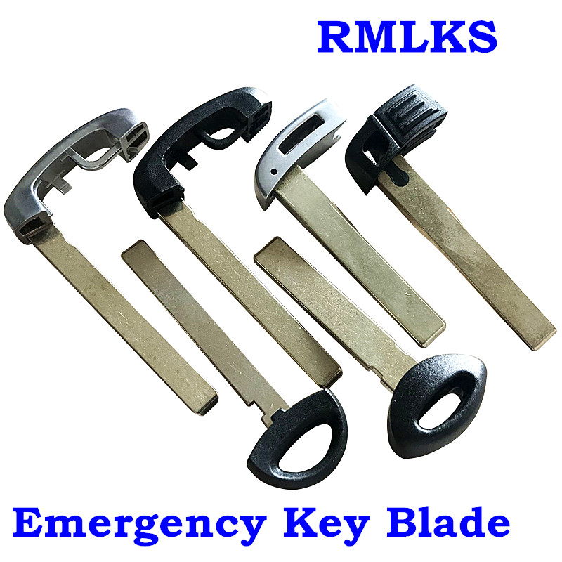 RMLKS New Uncut Blank Key Blade Smart Remote Key Fob Fit For BMW MiNi 3 5 6 7 series X5 X6 New 5 7 Series Emergency Key Blade(China)