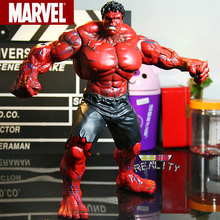 Red Hulk Action Figure The Avengers Hulk PVC Figure Collectible Model Toy  10″ 26cm