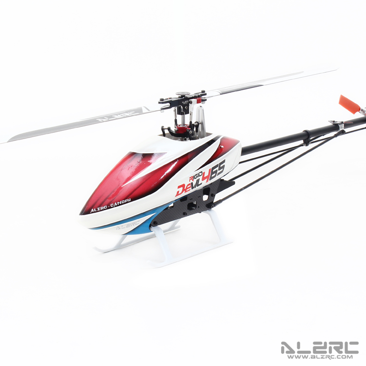 ALZRC-Devil 465 RIGID SDC/DFC KIT RC Helicopter KIT Aircraft RC Electric Helicopter  Frame kit Power-driven Helicopter Drone alzrc devil 465 rigid sdc dfc combo rc helicopter kit aircraft rc electric helicopter frame kit power driven helicopter drone