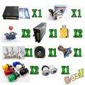 1 kit de 520 en 1 tablero de juego multi, fuente de alimentación, altavoz, joystick, botón 1P2P 1 Unidades de parte para la máquina de juego