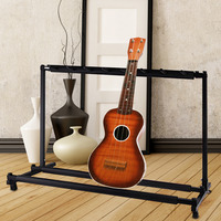 TSAI Electric Guitar Stand Triple/Five/Seven Guitar Bass Stand Holder Stage Folding Display Rack for guitarra ship from USA new