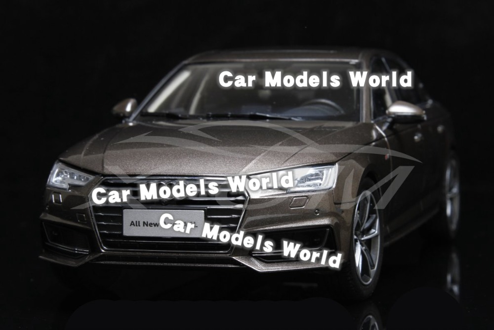 Diecast Car Model for All New A4L 2017 1 18 Brown SMALL GIFT
